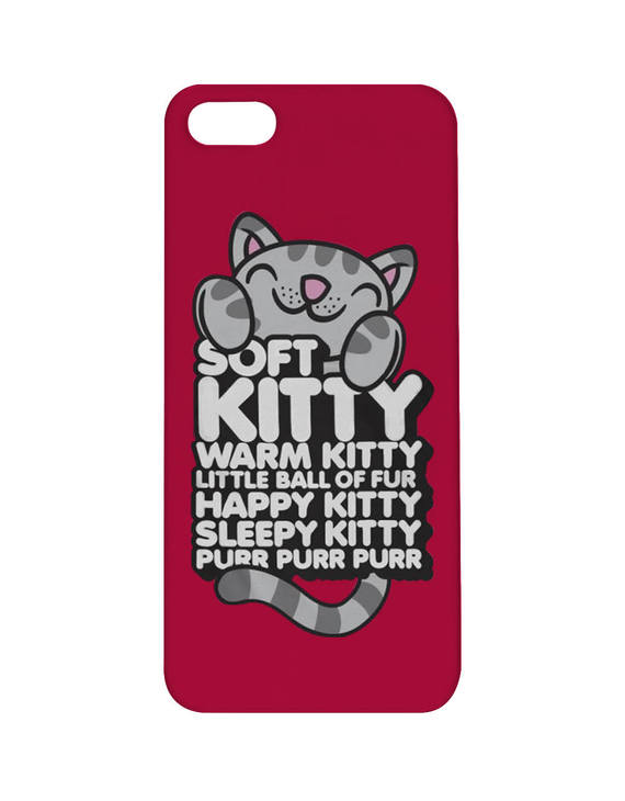 soft kitty歌词手机壳【硬壳】
