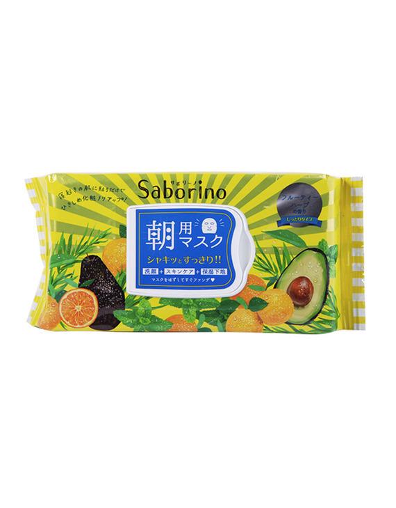 Saborino 早安面膜 滋润牛油果 32片