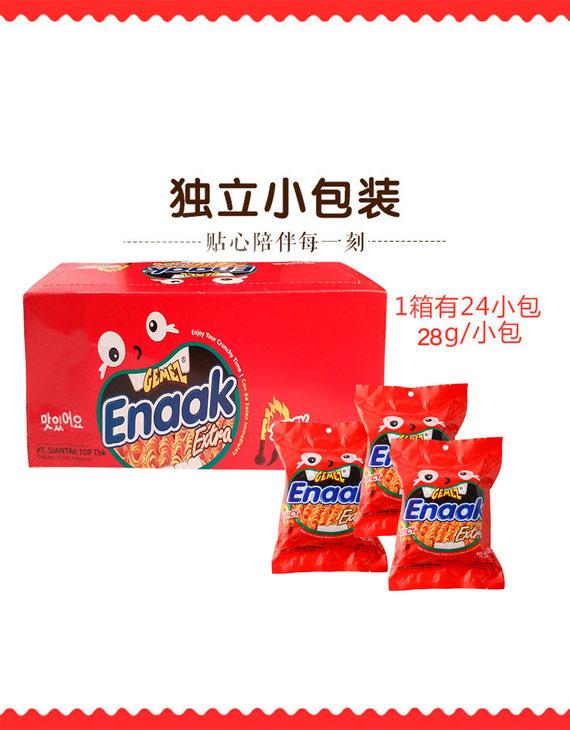GEMEZ Enaak Extra点心面 12烤鸡+12辣味