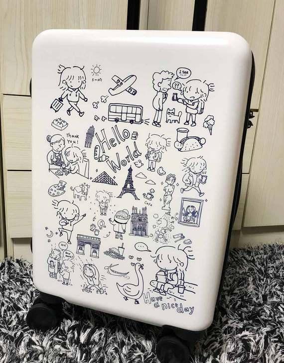 【现货】琉琉欧洲游 琉玄原创24寸行李箱(多色可选)(3天发货)