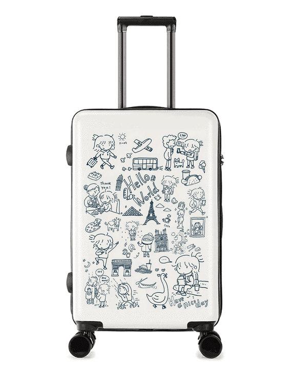 [24寸]琉琉欧洲游旅行箱