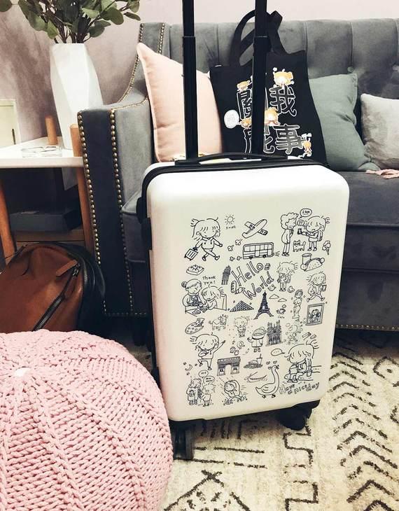 【现货】琉琉欧洲游 琉玄原创26寸行李箱(多色可选)(3天发货)