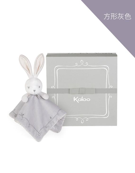 Kaloo初生安抚毛巾 方形灰色