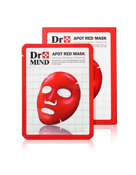 DR.MIND/达克蔓 净肤红面膜 5片装*2盒装