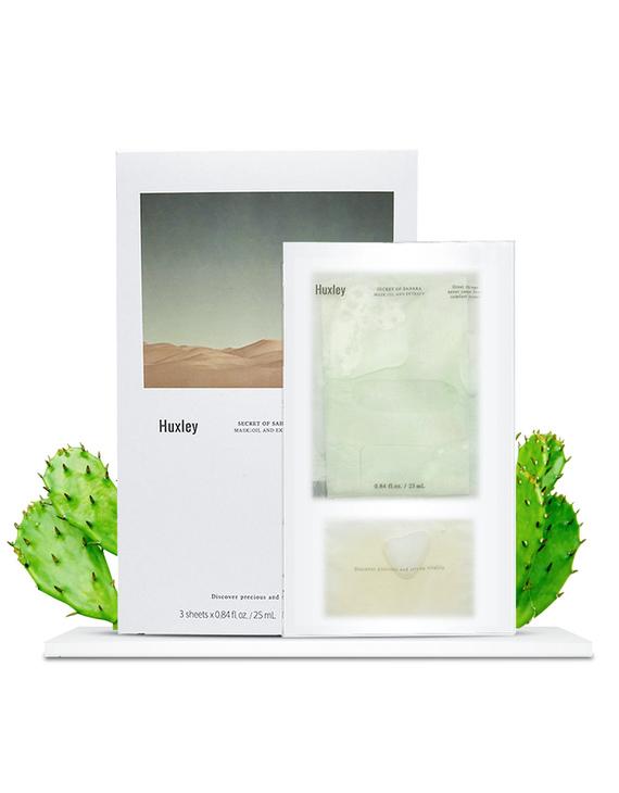 HUXLEY 仙人掌籽保湿补水面膜 3片