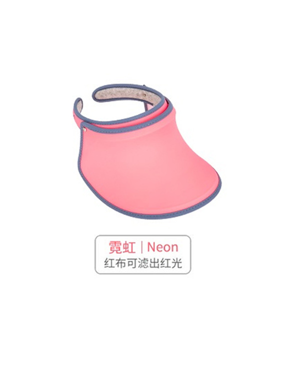 VVC正品夏季遮阳帽 蓝色/果绿色/玫红色/粉色/霓虹色  5色可选