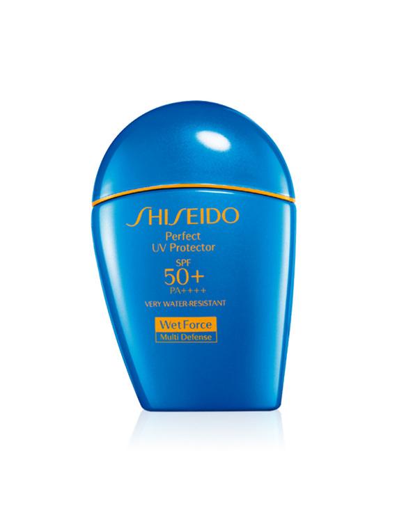 SHISEIDO/资生堂 艳阳夏臻效水动力防护乳液 (蓝胖子)美版SPF50+ 100ML