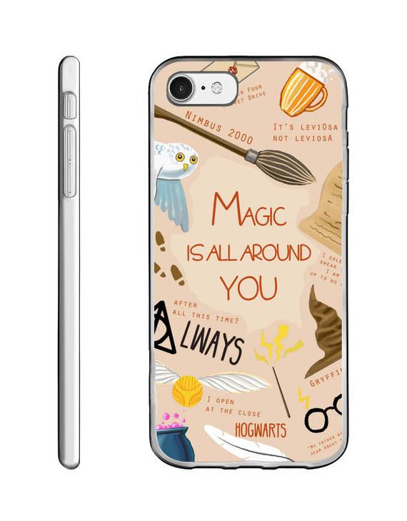 新 魔法元素手机壳