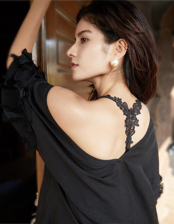 UBRAS蕾丝吊带美背版文胸