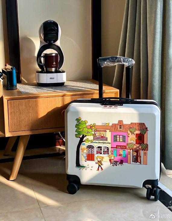 【现货】走路喝咖啡 琉玄原创19寸行李箱(多色可选)(3天发货)