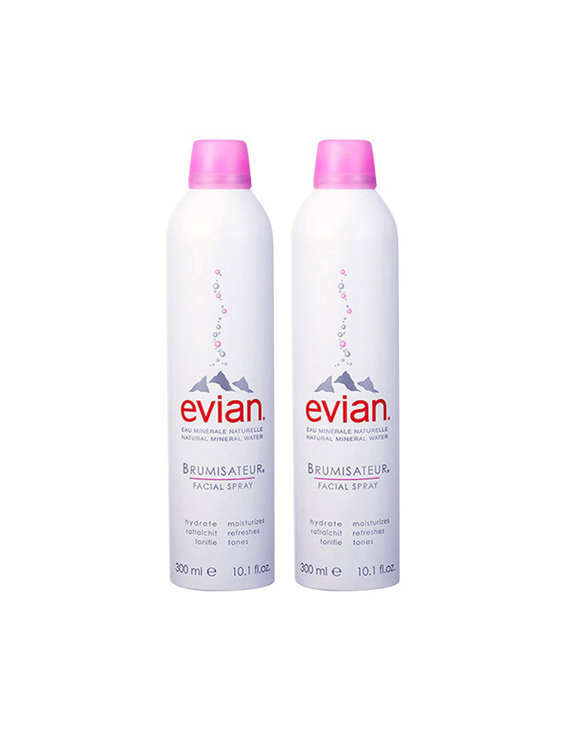 【两瓶】evian 依云保湿舒缓矿泉水喷雾 300ml*2