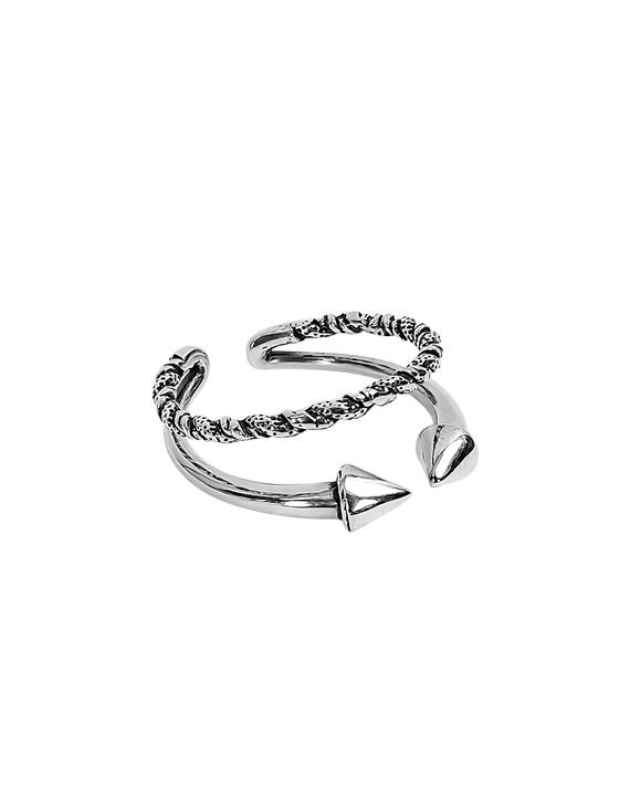 S925银个性复古箭头戒指(不退换)