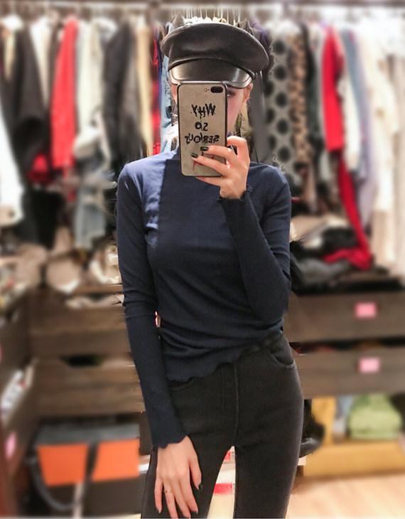 【四色可选】发热高领打底衫(不退换)