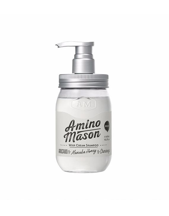 【向往的生活同款】AMINO MASON 升级氨基酸头皮护理滋养洗发水 450ML