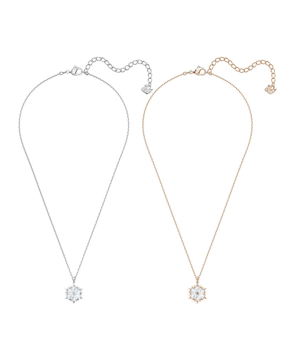 【两色可选】【19新款】SWAROVSKI/施华洛世奇 圣诞雪花项链唯美浪漫项链