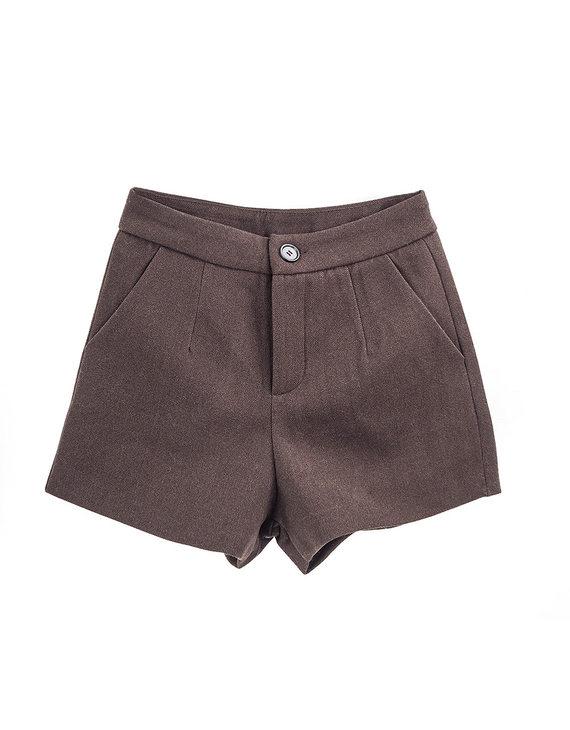 【两色可选】百搭高腰A版短裤(不退换)