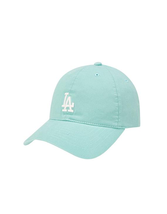 【限定色】MLB 美职棒棒球帽 77系列软顶薄荷绿白标正面小LA(不退换)