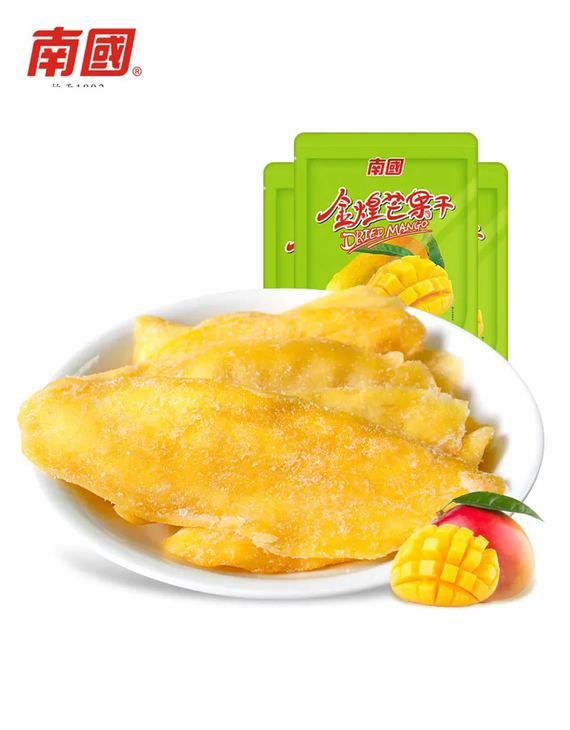 南国食品专场 金煌芒果干(116gX3袋)(偏远六省不发货)